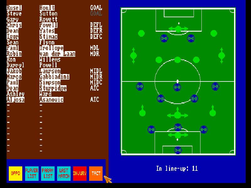 PSV Manager online game